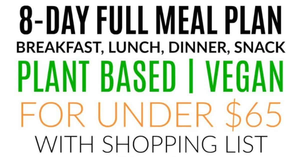 Mediterranean diet plan list of foods