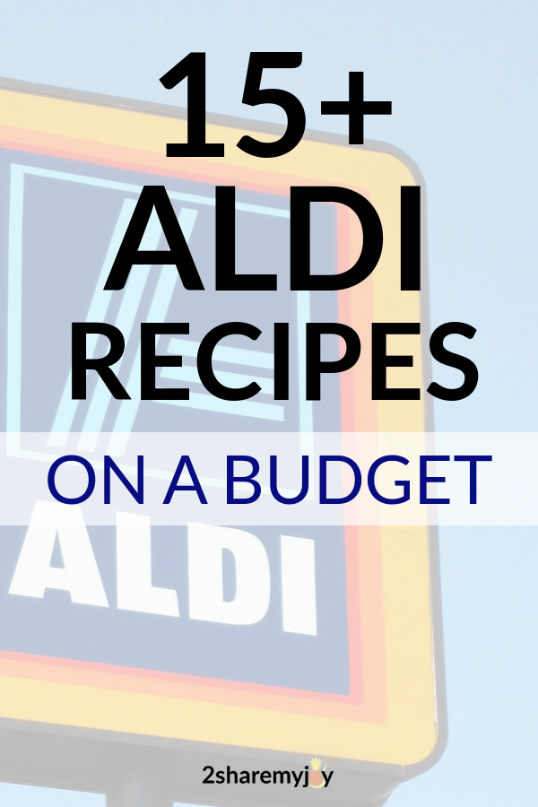 15+ aldi dinner recipes on a budget that are healthy and vegan. #vegan #aldius #budget