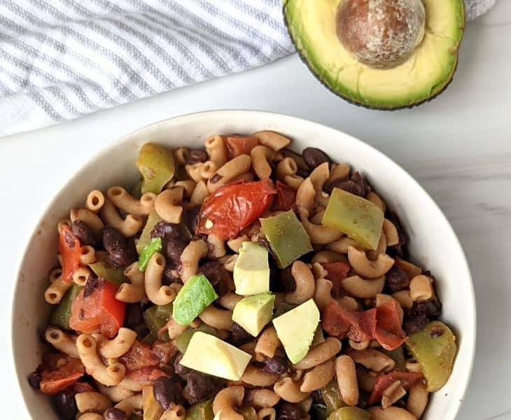 Easy Taco Pasta Recipe {one pot | vegan | oil free}