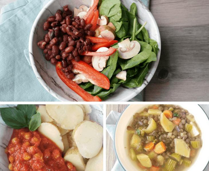 Vegan 21 Day Fix Meal Plan (1,500-1,800 calories, GF)