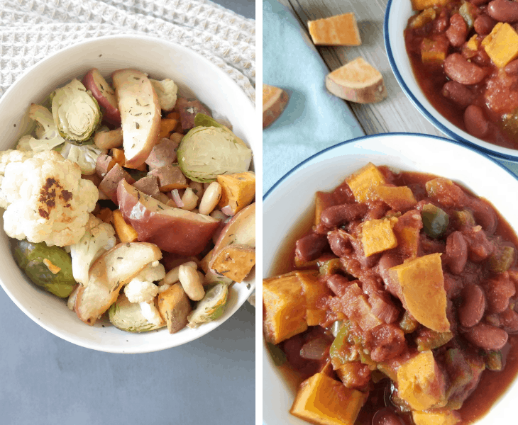 7-Day Vegan Fall Meal Plan (weight loss or maintenance)