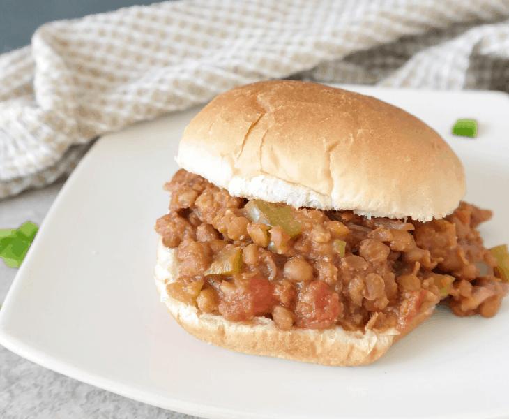 Instant Pot Vegan Sloppy Joes Recipe