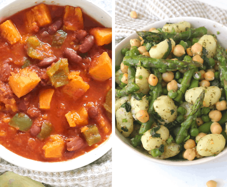 Budget Meal Plan For Two (1300 Calories, 5 Days, $65)
