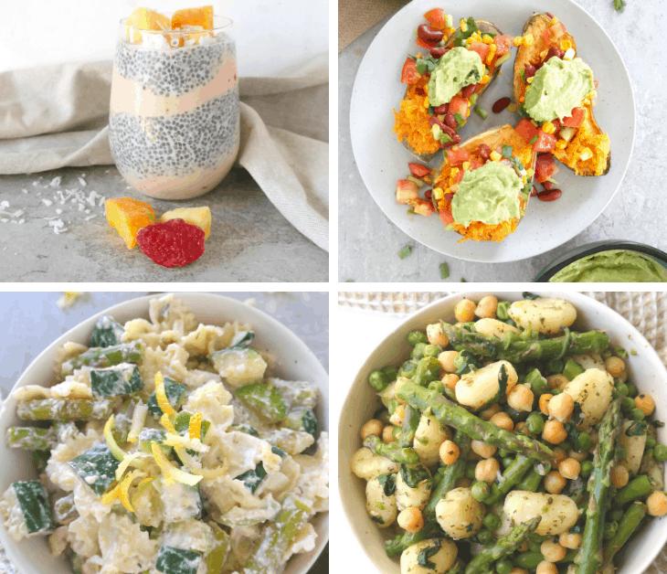 Easy Vegan Summer Meal Plan (1790 calories, 67 g protein, 6 days)