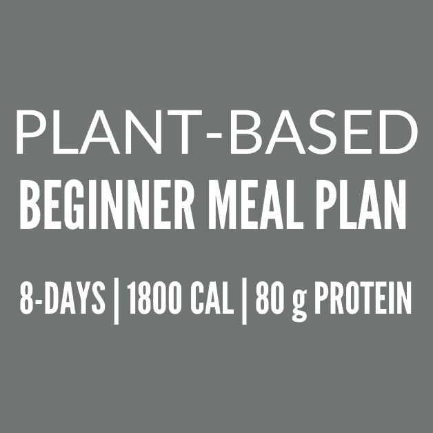 Plant Based Diet Plan PDF {For Beginners}