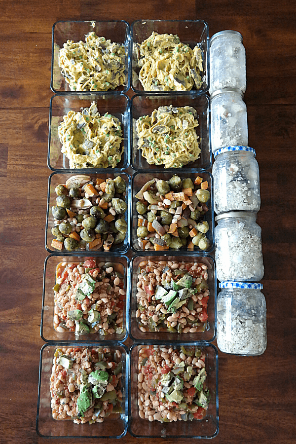 vegan meal prep for weight loss