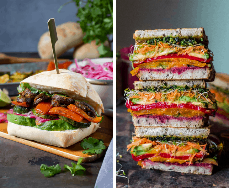 85+ Vegan Sandwich Recipes That Make Your Mouth Water