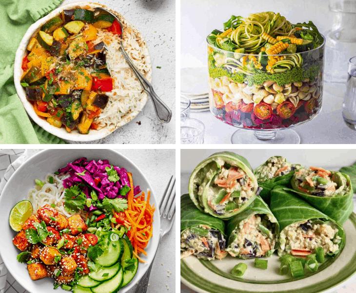 40+ Vegan Summer Recipes   Light Dinners for Hot Days