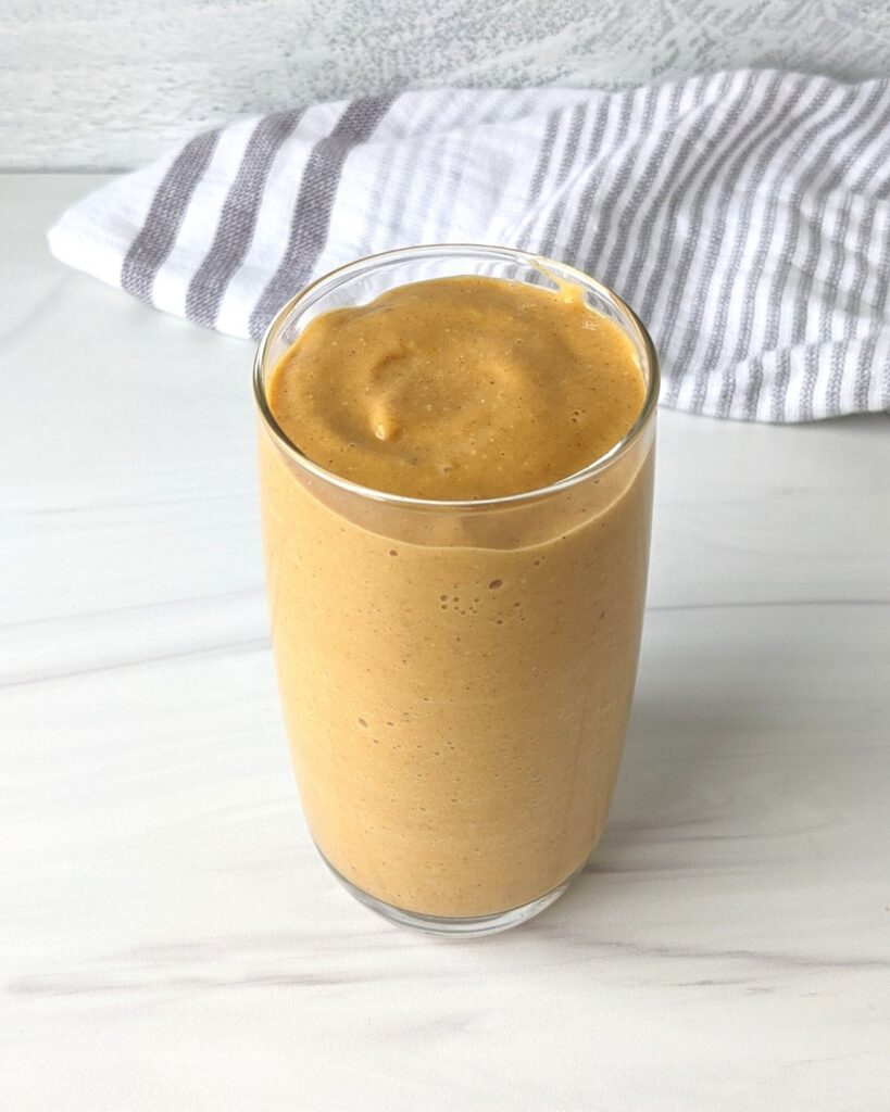 pumpkin smoothie recipe for weight loss
